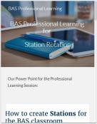 Google site BAS
